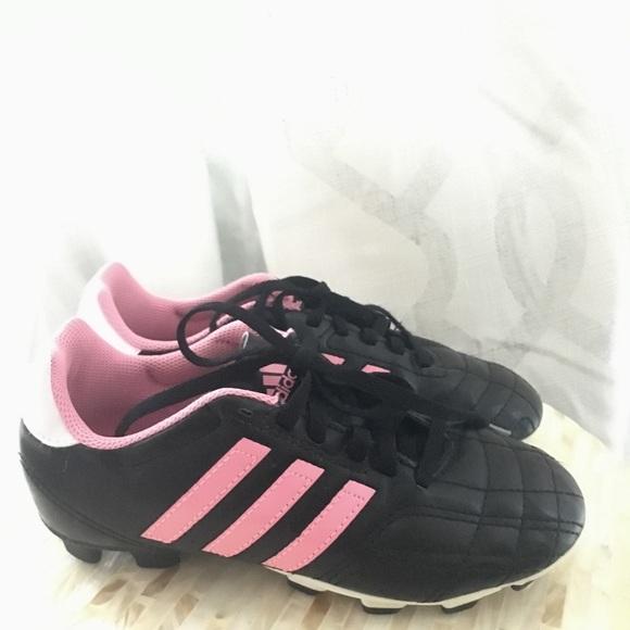 3fe432c080070 ADIDAS girls soccer cleats pink size 2 youth. M_5b78cc0cc617771197da0a88